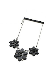 Fashionable Alloy With Acrylic Women's Bead Necklace