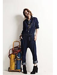 Women's Pants , Cotton Casual/Work TURN SIGNAL