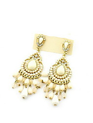 Attractive Alloy Women's Pierced Bead Earrings