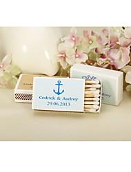 Картон Свадебные украшения-12piece / Установить Лето Персонализированный Спички в комплект не входят.
