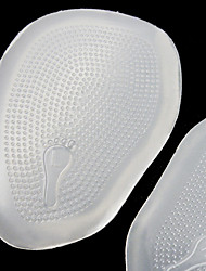 Comfortable Transparent Silicone Inner Height Increasing Insole