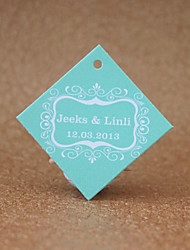 Personalized Favor Tags - Blue(set of 30)