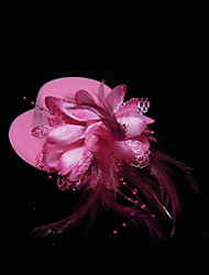 Women's/Flower Girl's Silk Headpiece Flowers