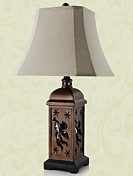 European Style Carved Hollowed-Out Table Lamp 220-240V