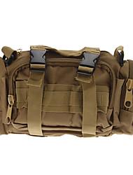 Resistente nylon esterna di compressione Viaggiare Camera Bag - giallo