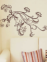 Flower Lady Wall Stickers