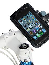 Bicicleta de la bici del lanzamiento rápido con cremallera bolsa para el móvil de la pantalla táctil