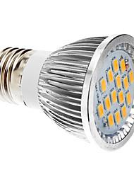 e27 6w 5630SMD luce calda / fredda bianca ha condotto la lampadina spot (85-265V)