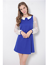 Women's Dresses , Knitwear Casual Long Sleeve ACOM NO.9