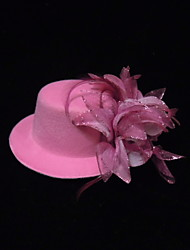 Women's / Flower Girl's Silk Headpiece Flowers