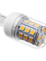 Lâmpadas Espiga G9 5W 410 LM 3000K K Branco Quente 30 SMD 5050 AC 220-240 V T