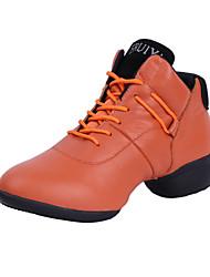 Zapatillas de deporte de cuero superior de baile de moda unisex (más colores)