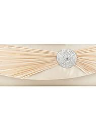 Красивые имитация шелка со стразами вечерние сумочки / муфты (другие цвета)