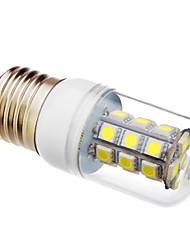 daiwl e27 27x5050smd 6000k lumière blanche froide conduit ampoule de maïs (12v)