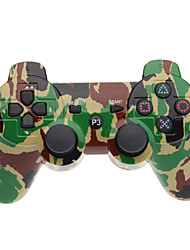 USD $ 15.26 - Kabelloser Dual Shock Bluetooth V4.0 Controller für PS3 in Camouflagefarbe