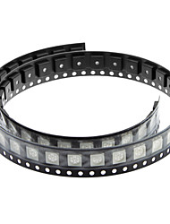 Blancos (50 PCS) DIY - 0.02W 5050SMD RGB LED Emisores