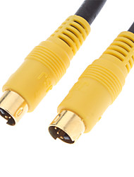 S-Video Male to Male Cable for Home Theater(5M)