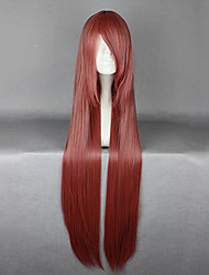 Lolita Wigs Classic/Traditional Lolita Lolita Extra Long / Straight Fuschia Lolita Wig 100 CM Cosplay Wigs Solid Wig For Women