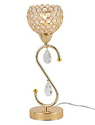 Crystal Chic Table Lamp With Beads 220-240V