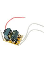 GU10 1 * Conductor 1W 320-350mA Corriente constante regulada LED (CA 85-265V)