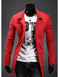Dacron hebilla oculta Escudo bolsito rojo midoo Hombres