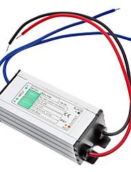 10W Waterproof LED Driver de potência (90-264V)