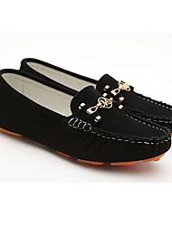 MLKL salto Plano Confortável Doug Shoes (Preto)