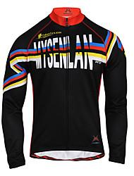 MYSENLAN2013 Herren Herbst und Winter Style RIBBON Radfahren Jacke mit Double Composite-Fleece