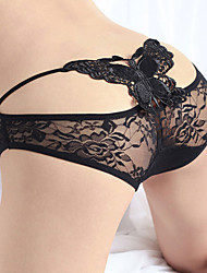 Sexy Lace Out Schmetterling Muster Skong & Half Slips Cut