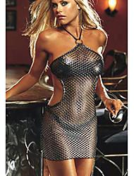Halter sexy della maglia Slips trasparenti delle donne