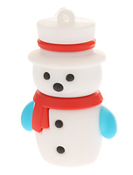 Plastic Little Christmas Snowman Modell USB 4GB