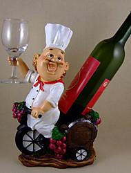 Wine Rack, Resina Multi-Color Chef Design de Moda
