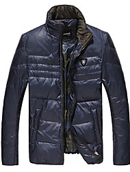 Men's Coats & Jackets , Feather/Others Long Sleeve Casual JNE·FOX
