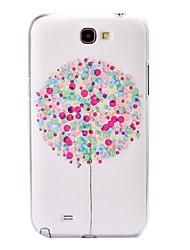 Farbe Ballon Muster Kunststoff-Gehäuse für Samsung Galaxy Note N7100 2