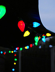 40 Solar Powered Outdoor String Lights-Fairy Lights-Natale della luce della stringa per la decorazione