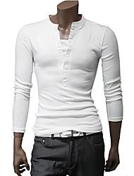 La Fashion Style Angleterre de DAYD T-shirt Faux manches 2Pcs Long (accessoires de style, motif, taille, couleur aléatoire) (Blanc)
