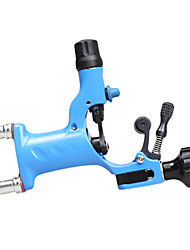 Cast Iron Blue Rotary Tattoo Machine Gun Liner and Shader