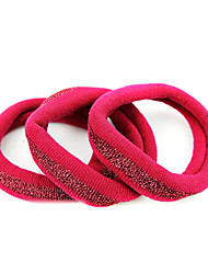 3 Durable Hair Bands simples