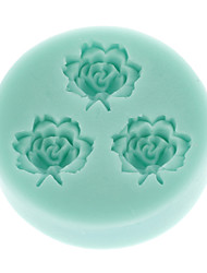 Mini Rose Flower Food Grade Silicone Mold Chocolate Cake Decorating Heat Safe Mould