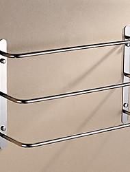 Contemporaine en acier inoxydable 3 Bars Porte-serviettes