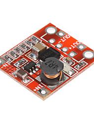 DIY 3В до 5В 1А Повышение PCB модуль для мобильных питания зарядное устройство - красный