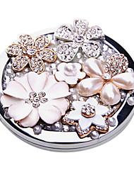 Flower Story Makeup Pocket Mirror