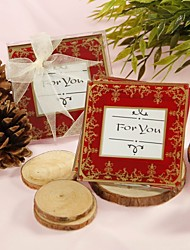 coasters do casamento imperial asian vidro