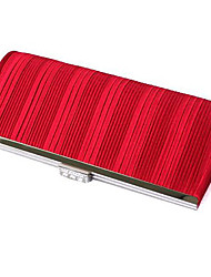 Colormoon Frauen Strips Red Partei Clutch Bag