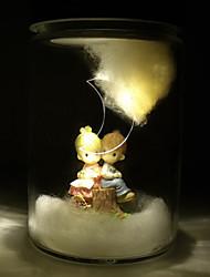 Fairytale Cute Solar LED Powered Garden Light -Solar Table Light- Solar Small Night Light In Jar Design