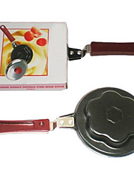 Country Flower Shape Frying Pan