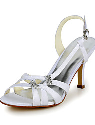 Women's Spring / Summer Heels Stretch Satin / Satin Wedding Stiletto Heel