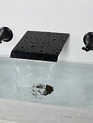 Vintage Style Öl-rieb Bronze verbreitet Badezimmer Badewanne Wasserhahn