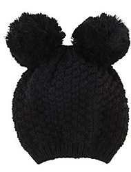 mignonnes oreilles de Mickey de femmes de bonnet tricoté