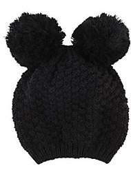bonito orelhas de Mickey das mulheres chapéu de malha